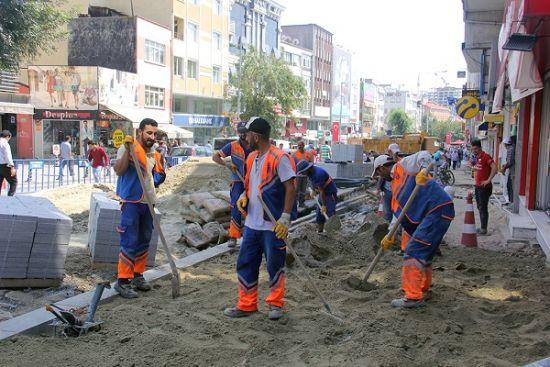 Zeytinburnu 58'inci Bulvar Yeni Yüzüne Kavuşuyor, Zeytinburnu, 58'inci Bulvar Yeni Yüzüne Kavuşuyor, Semih Demirci, Zeytinburnu Belediye Başkan,