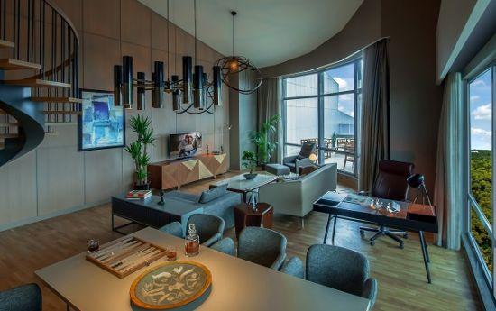SR_Turkey_Istanbul_Som_Maslak_1_PENT_Lounge_HR, emlak, konut, Hotel, Emlaklobisi,