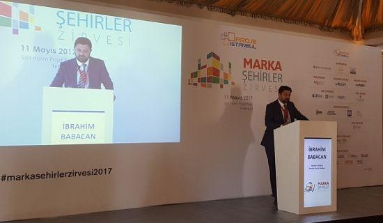 Marka Şehirler Zirvesi, Babacan Holding, İbrahim Babacan, Marka Şehirler Zirvesi 2017, Babacan Holding Marka Şehirler Zirvesi 2017'deki yerini aldı,