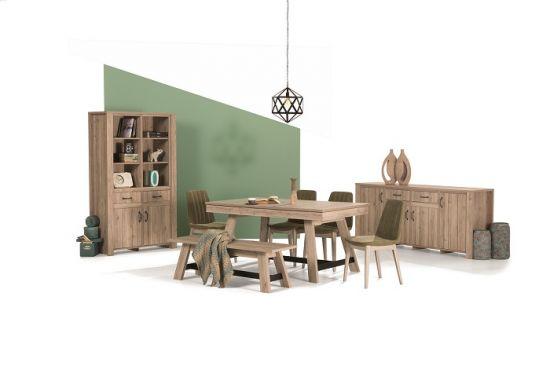Doğadan ilham alan tasarım; Limyra Yemek Odası, Ahşap ve yeşilin mükemmel uyumu, İder Mobilya Limyra Yemek Odası Takımı: 3.535 TL, İder Mobilya Limyra Yemek Odası, İder Mobilya Limyra, İder Mobilya,