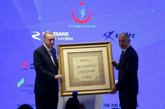Dr. Erman Ilıcak, Rönesans Holding Başkanı, Rönesans Holding, İstanbul İkitelli Şehir Hastanesi, sismik izolatör teknolojisi, Rönesans Sağlık Yatırım, Recep Tayip ERDOĞAN,
