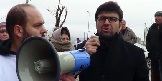 Avukat Orhan Boran, Ukra İnşaat mağdurlarının bir eyleminde