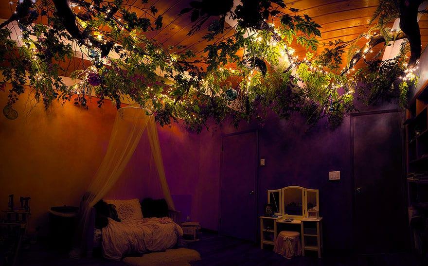Peri Ağacı Odası ışıklandırma