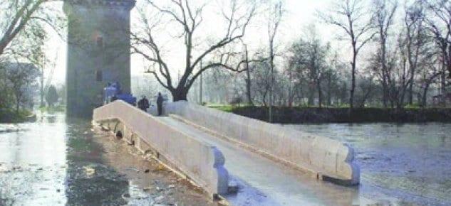 Edirne Sular Altında