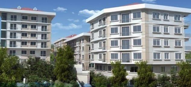 Meridyen Evleri projesi daire fiyatları 80 bin TL