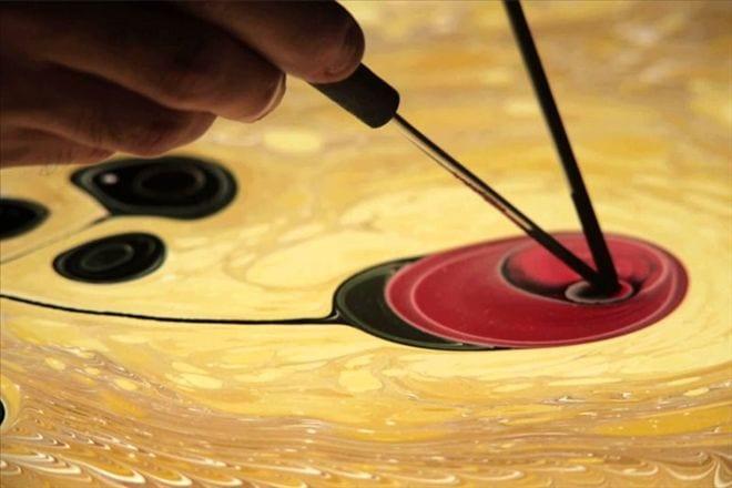 Evde Ebru Sanatı Nasıl Yapılır Ebru Sanatı Için Gerekli Malzemeler