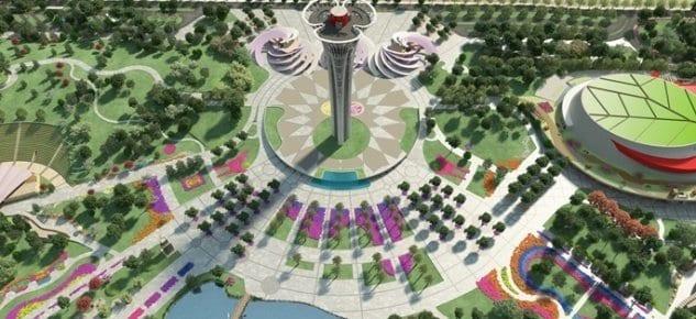 Taca İnşaat, Dubai Expo'ya odaklandı!