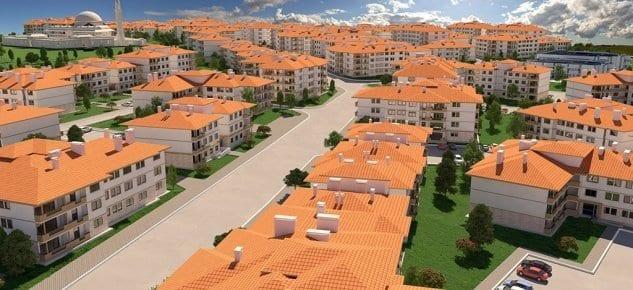 Gaziantep'te inşa edilecek 913 konutun ihalesi yapıldı!