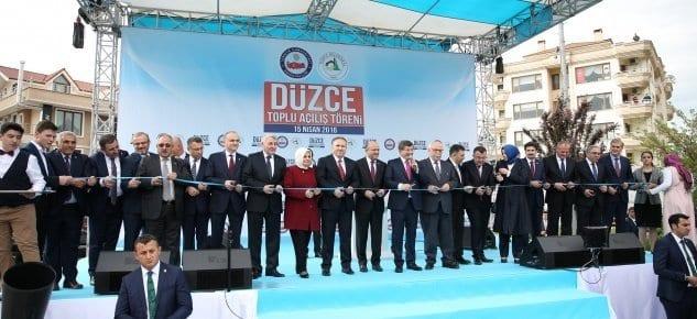 Düzce'de 600 milyon lira değerinde 81 tesis!