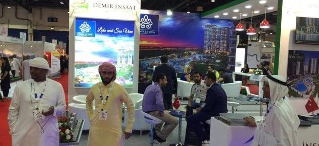 Demir İnşaat Dubai'de yoğun ilgi gördü!