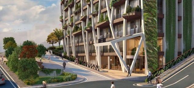 Türkiye'nin ilk ve tek dikey ormanı Greenox Urban Residence!