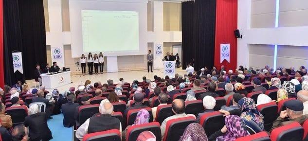 Kastamonu'da 200 emekli konut sahibi oldu!
