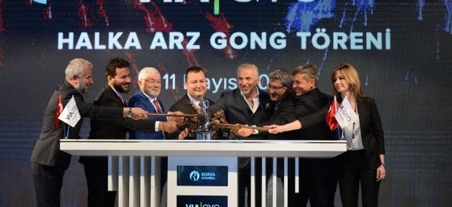 Borsa İstanbul'da Gong Via GYO İçin Çaldı