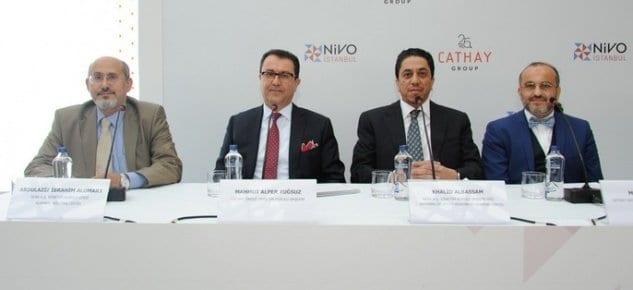 Basın Ekspres'in fabrikalarının üzerinde Nivo İstanbul yükselecek.