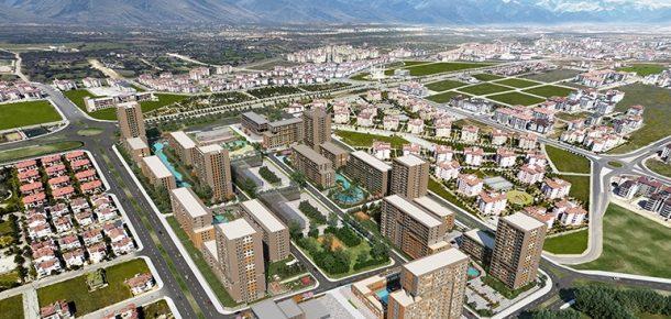 Evora Denizli projesinde 250 bin liraya daire!
