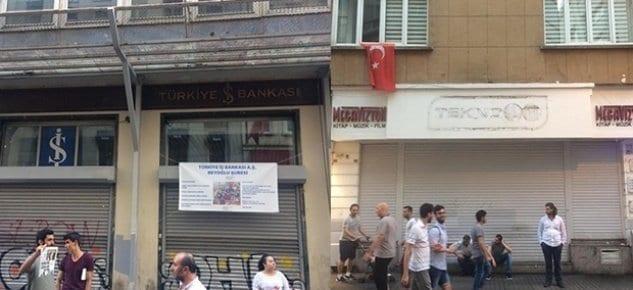 İstiklal Caddesi'nde dükkanlar kepenk kapatıyor!