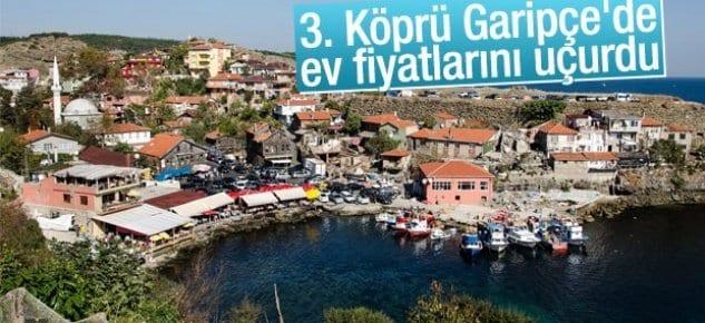 Garipçe-Poyrazköy hattına 3'üncü köprü dopingi!