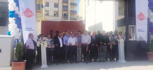 Huzurlu Kampus Karabük Projesinde Anahtar Teslim Töreni