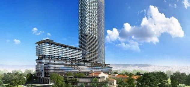 İzmir'in en güzel rezidans projesinin örnek ofis daireleri hazır