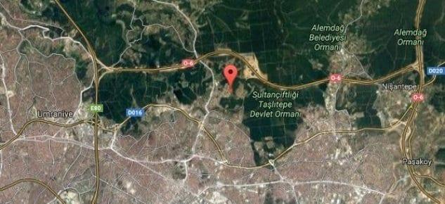 Çekmeköy'de satılık orman manzaralı butik proje arsası