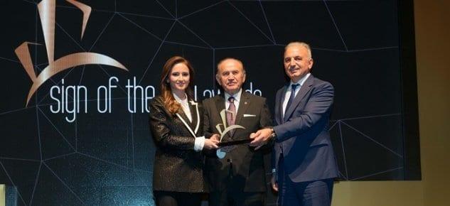 Yılın En iyi Dönüşüm Projesi ödülü İstanbul'un yeni semti 5. Levent'in