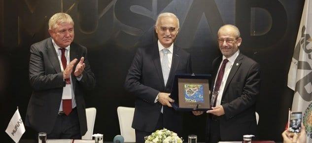 MÜSİAD İran Rusya ve Ürdün ile MoU anlaşmaları imzaladı