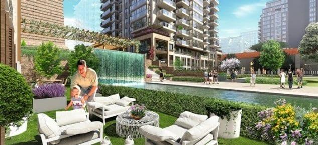 Şehrin yeni deniz semti Büyükyalı İstanbul Azerbaycan RECEXPO Fuarı'nda!
