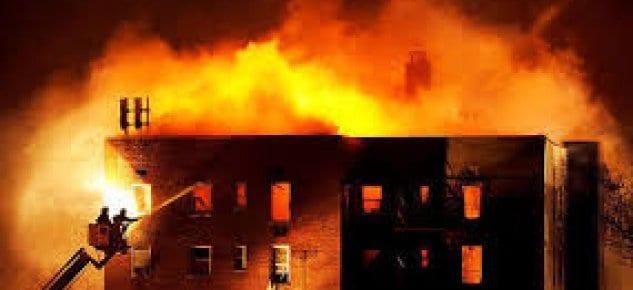 Binalar yangından korunamıyor!