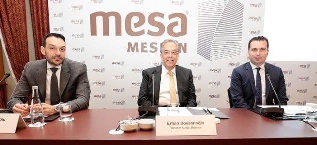 MESA projeleri 2017'de 3.5 milyar liralık yatırım değerine ulaşacak