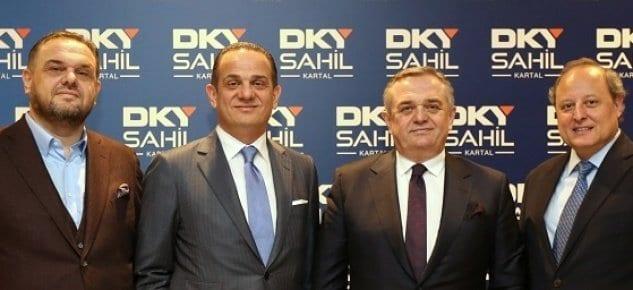 DKY 240 milyon liraya Kartal sahiline indi!