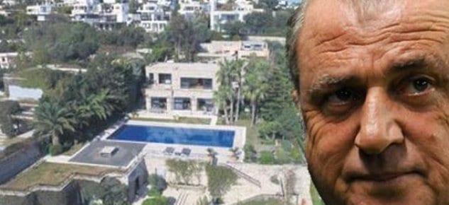 Fatih Terim'in Bodrum'daki villası 8 milyon 600 bin Euro'dan satışta!
