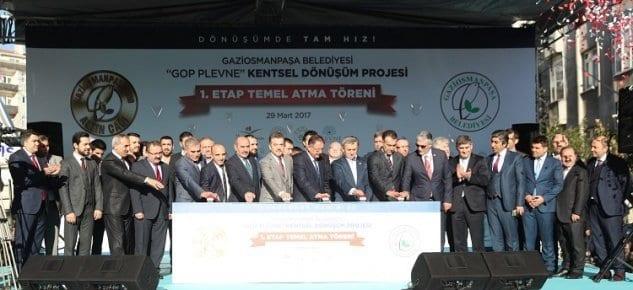 Dönüşümün sembolü GOP Plevne'de temeller atildi!