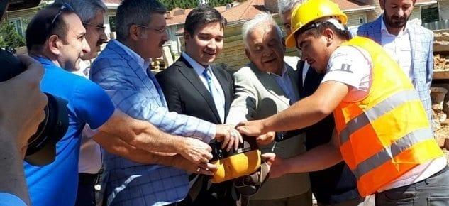 Mustafa Saffet Fen Lisesi ve İnal Aydınoğlu Öğrenci Yurdu binasının temelleri atıldı!