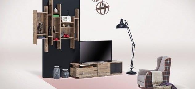 Lidya TV Ünitesi'yle ahşabın rustik hali çağın yenilikçi çizgileriyle buluşuyor