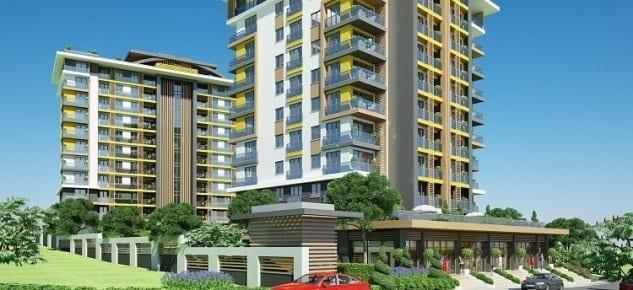 City Hill Sancaktepe İstanbul'un merkezinde Sancaktepe'de yükseliyor