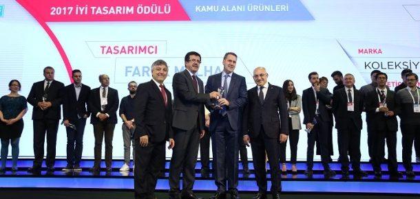 Koleksiyon'a Türkiye Tasarım Haftası'ndan 4 ödül birden!