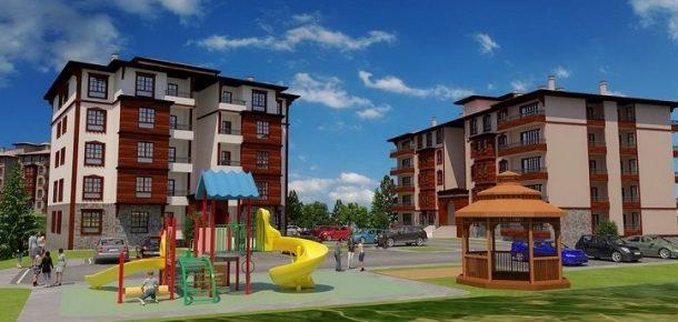 TOKİ'den Kastamonu'da yöresel mimaride 316 konut!