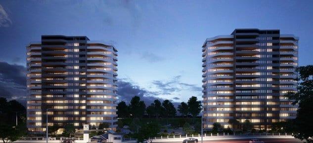 Portova projesinde 550 bin TL'ye 4+1 daire!