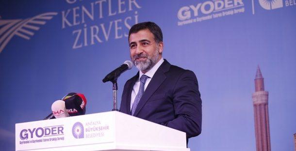 Gelişen Kentler Zirvesi Antalya Feyzullah Yetgin Açılış Konuşması