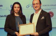 Tekzen'e en çok mağazası olan yapı market ödülü!