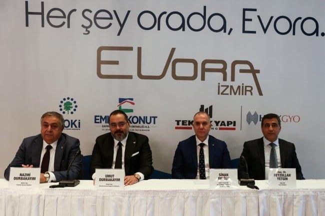EVORA İzmir'de Ön Talep Toplanacak!