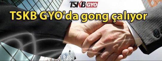TSKB GYO'da gong çalıyor