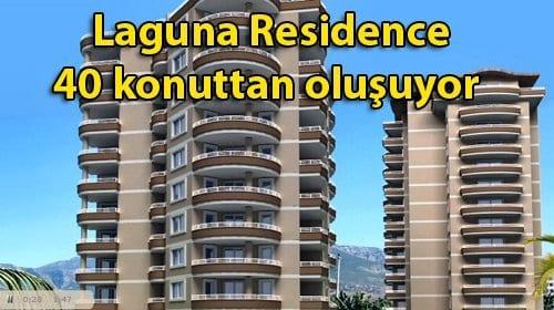 Laguna Residence'da fiyatlar 99 bin TL ile 250 bin TL arasında
