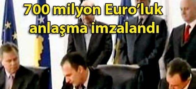 Enka, Kosovada 700 milyon Euroluk otoyol imzası attı
