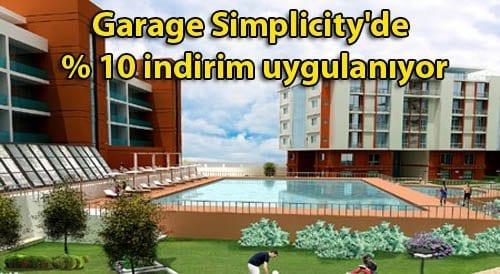 Garage Simplicity'de 102 bin TL'den başlıyor