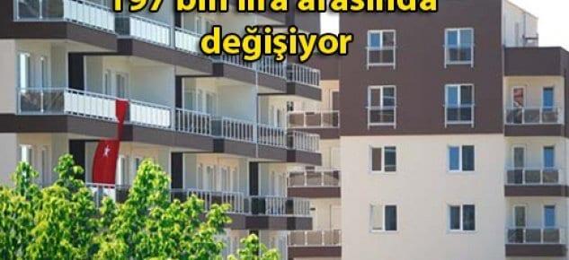 Altın Koza Konut'larında ev sahibi olabilmek için 60 bin lira peşinat talep ediliyor