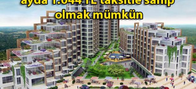 Ataman Karina Pendik'te 1+1'ler 105 bin TL'den başlıyor