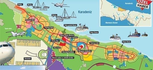 İşte yeni İstanbul'un en cazip alanları