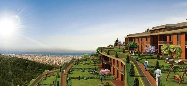 Asma Bahçeler'de 2+1 dairelerin tamamı satıldı
