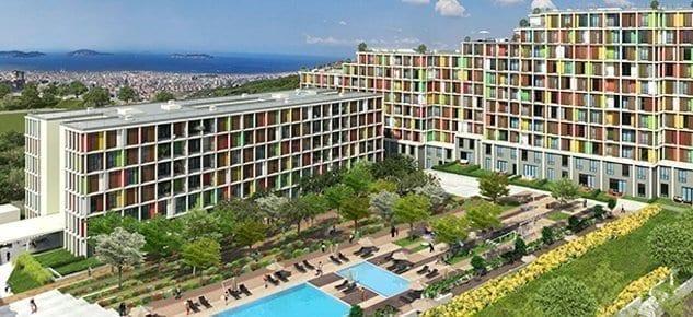 Maltepe Narlife Evleri'nde fiyatlar 203 bin liradan başlıyor! Nisan 2014 teslim!